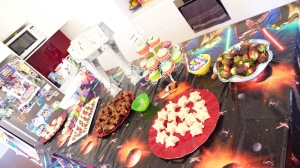 """Star Wars party food"""