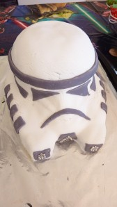 """Stormtrooper Birthday Cake"""