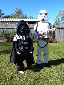 Star Wars dress-ups